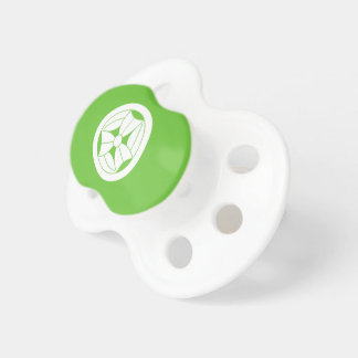 In circle three breaking bamboo grasses pacifier