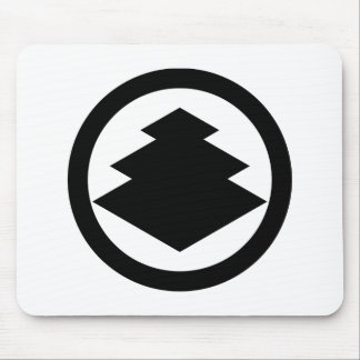In circle three floor water caltrop mouse pad