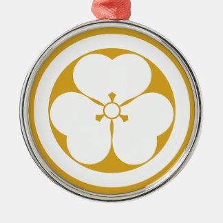 In circle vinegar gruel grass metal ornament