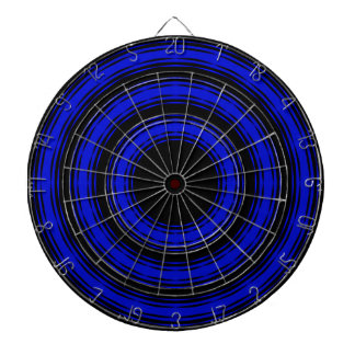 In Circles - Blue Version Dartboard