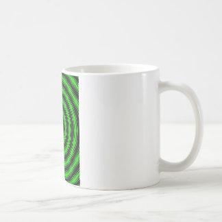 In Circles (Green Version) Coffee Mug