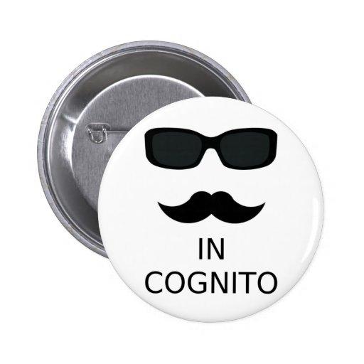 In Cognito 2 Inch Round Button