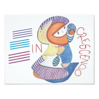 In crescendo card