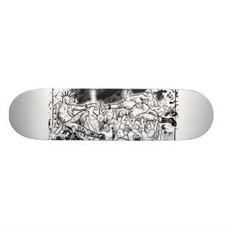 In Crust We Trust Skate Board Deck