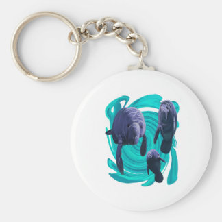 IN CRYSTAL WATERS KEYCHAIN