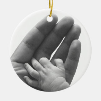 In Daddy's Hand Christmas Ornaments