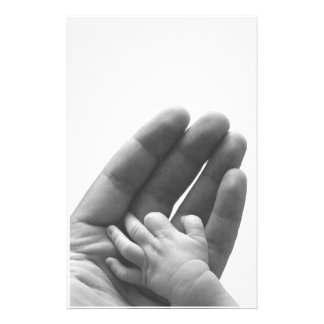 In Daddy's Hand Stationery