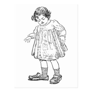 In Daddy's Shoes Postcard