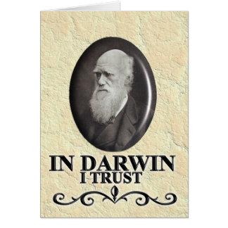 IN DARWIN I TRUST CARD