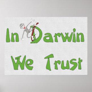 In Darwin We Trust Poster