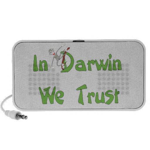 In Darwin We Trust Speakers