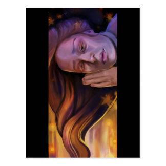 """In Deep"" Postcard of Painting"
