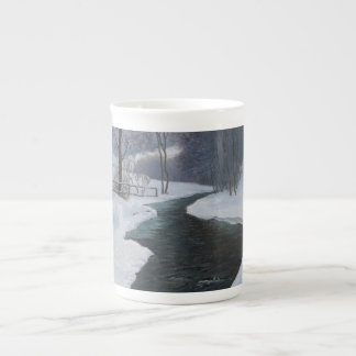 In Deep Winter Bone China Mugs