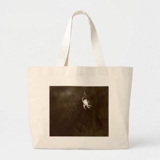 In defense of mastophora large tote bag