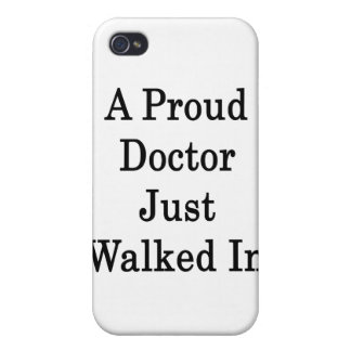 In del doctor Just Walked orgulloso iPhone 4 Cobertura