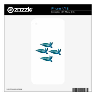 IN DETAILED FORMATION DECALS FOR THE iPhone 4