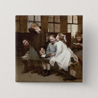 In Detention, 1888 Button