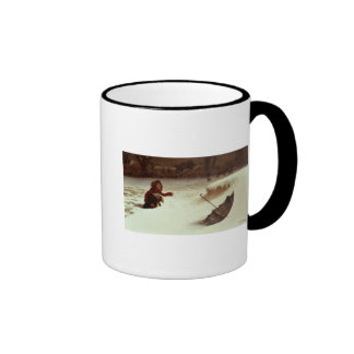 In Difficulties Ringer Mug
