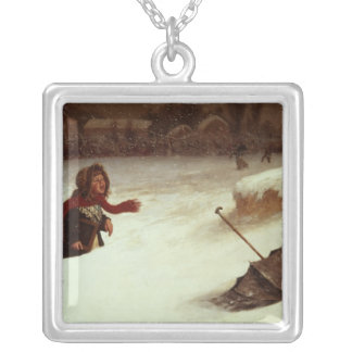 In Difficulties Silver Plated Necklace