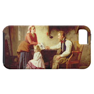 In Disgrace, 1875 (oil on canvas) iPhone SE/5/5s Case