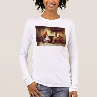 In Disgrace, 1875 (oil on canvas) Long Sleeve T-Shirt