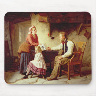 In Disgrace, 1875 (oil on canvas) Mouse Pad