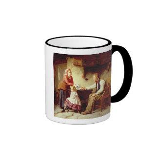 In Disgrace, 1875 (oil on canvas) Ringer Mug