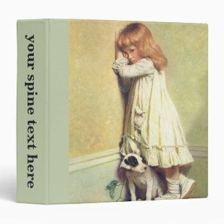 In Disgrace by Charles Burton Barber Vinyl Binder