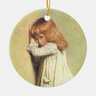 In Disgrace by Charles Burton Barber Ceramic Ornament