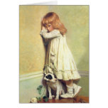 In Disgrace by Charles Burton Barber Greeting Card