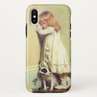 In Disgrace by Charles Burton Barber iPhone X Case