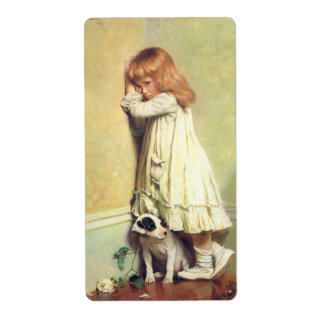 In Disgrace by Charles Burton Barber Label