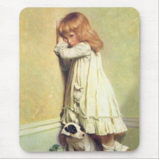In Disgrace by Charles Burton Barber Mouse Pad