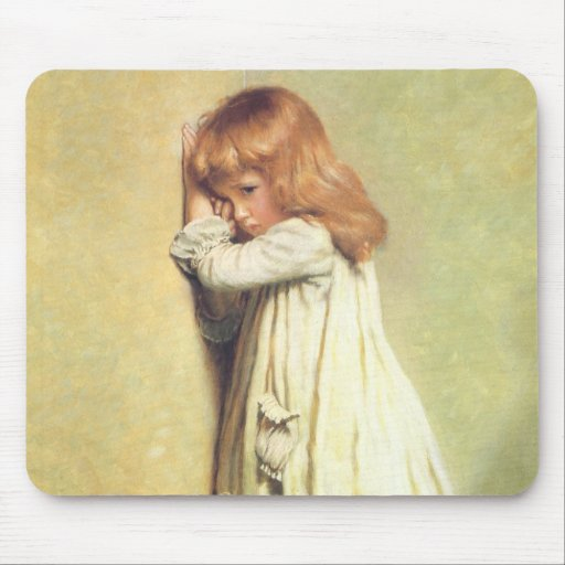 In Disgrace by Charles Burton Barber Mousepad
