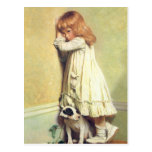In Disgrace by Charles Burton Barber Postcard