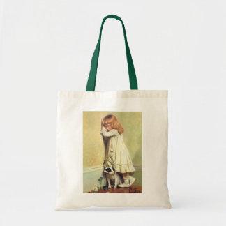 In Disgrace by Charles Burton Barber, Vintage Art Tote Bag