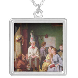 In Disgrace Silver Plated Necklace