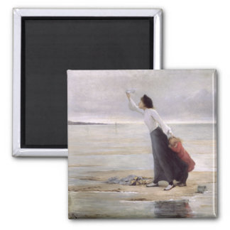 In Distress, Rising Tide 2 Inch Square Magnet
