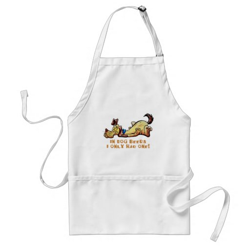 In Dog Beers Adult Apron