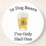 In Dog Beers Beverage Coaster