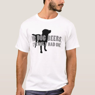 In Dog Beers Joke T-Shirt