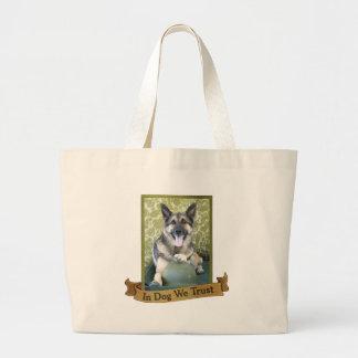 In Dog We Trust Bag