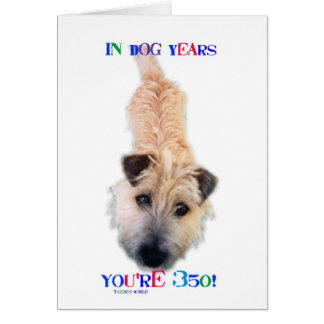 In Dog Years You re 350 Greeting Cards