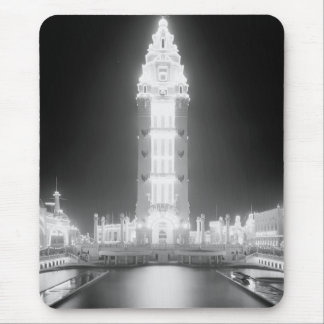 In Dreamland at night, Coney Island, N.Y. c1905 Mouse Pads