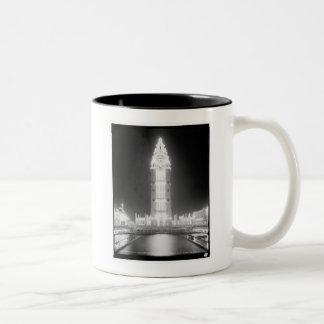 In Dreamland at night, Coney Island, N.Y. c1905 Two-Tone Coffee Mug