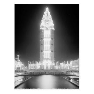 In Dreamland at night, Coney Island, N.Y. c1905 Post Cards