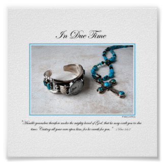 In Due Time - By Rebecca Huffman (6x6) Poster