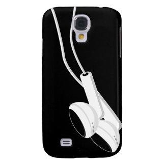 In Ear Earphones iphone 3G Case Samsung Galaxy S4 Case