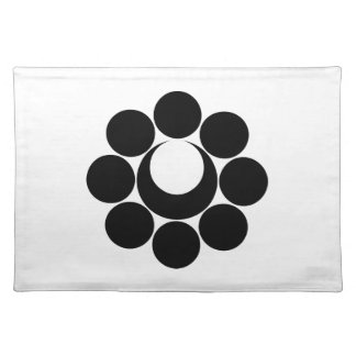 In eight heavenly bodies month cloth placemat