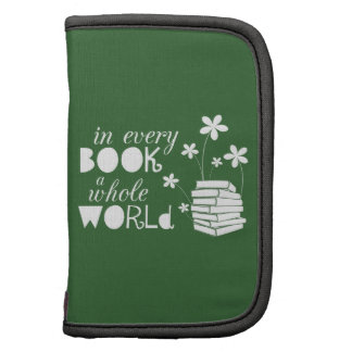 In Every Book A Whole World Folio Planners